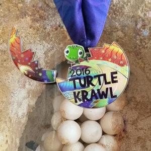 Virtual Strides Partner Virtual Race - Turtle Krawl Sea Turtle Medal